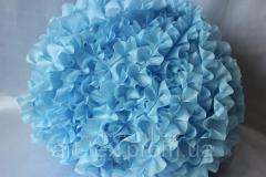 Ruches - silk, 5sm*50m Blue