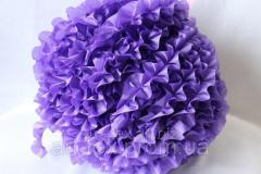 Ruches - silk, 5sm*50m Lilac