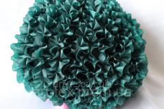 Ruches - silk, 5sm*50m Green