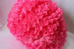 Ruches - silk, 5sm*50m Pink