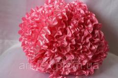 Рюши - атлас, 5см*50м Розовый