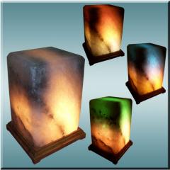 Светильники соляные , соляная лампа Прямоугольник