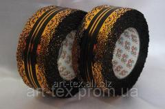 """Tape """"Crown"""" 6/25 Black"""