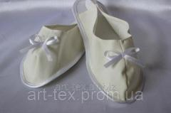 Slippers female in a coffin White 40