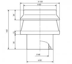 Изолятор фарфоровый проходной для съемных