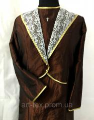 Suit dress for burial (Пл№4), a taffeta