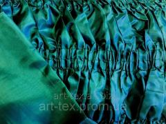 Upholstery for a coffin standard, silk (O1) Green