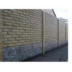 Fence concrete marble glossy