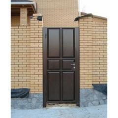 Gate Chocolate panel of welded 2*1 m