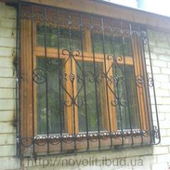 The forged lattice for windows