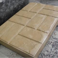Plate road Marble from concrete of 8x50x75 cm
