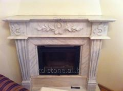 Portal for a fireplace marble 1400*1200*350