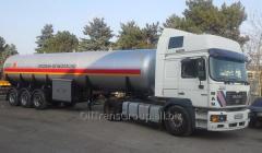 The gas liquefied - SPBT