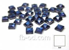 Stones pastes glue 5х5 blue-upak 100 pieces 24006