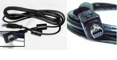 The usb Nikon UC-E1 cable for the Nikon CoolPix