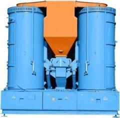 Separator vibrocentrifugal grain R8-BTs2-50