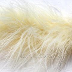 Boa down, D 6-7 cm white 20489