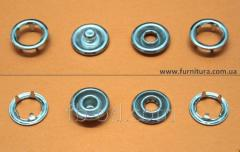 The button knitted FB D-9,5 of mm - nickel 20612