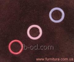 The button knitted DNG 9,5mm with enamel 02590