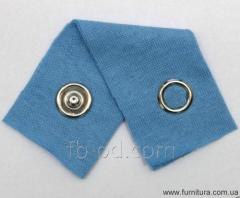 The button knitted DNG D-9,5 of mm - nickel 20613