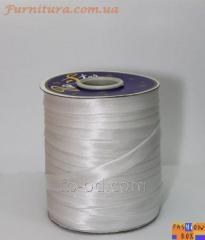 Slanting inlay (rulochka) white 08642