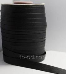Slanting inlay (rulochka) from a kozhzam Black