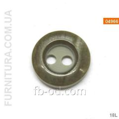 Button rubashechny with a rim (2 blows) 04966