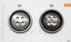 Bufalo button - 2bin3/23 08384
