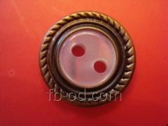 Button No. CH7601 (24L)
