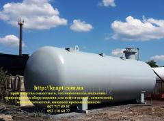 Gas-holder, capacity for propane of butane mix