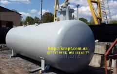 The tank for SUG of 20 cubic meters underground