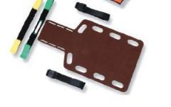 Плита иммобилизационная для спинного отделения, короткая, деревянная, Attucho, артикул 40257
