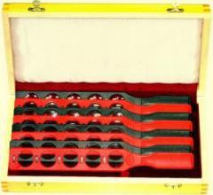 Набор офтальмологических пробных очковых линз Биомед пластиковые линейки,  артикул 30030