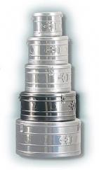 Коробка стерилизационная круглая КСК-12 объем 12 дм3, диаметр 340мм,  артикул 1102