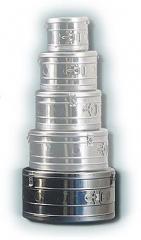 Коробка стерилизационная круглая КСК-18 объем 18 дм3, диаметр 372мм,  артикул 1103
