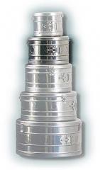 Коробка стерилизационная круглая КСК-6 объем 6 дм3, диаметр 250мм,  артикул 1100