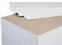 Гипсокартон для отделки стен и потолков. Оптовая