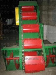 Kovshovy shnekovy loader of R6-KShP-6