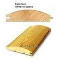 Block house pine 35kh125mm