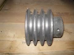 Шкив электродвигателя 3-х ручейный на муфту