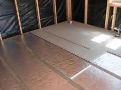 Теплоизоляция домов, пола, стен, труб отопления.