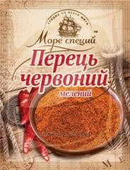 Pepper red to Mora of spices