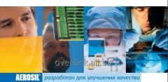 Colloidal AEROSIL® silicon dioxide of production