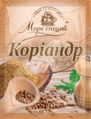 Coriander to Mora of spices