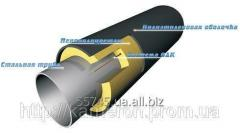 Pipe teploizoltrovanny with a diameter of 108/200