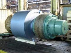 Production of rollers basic for dryer drums