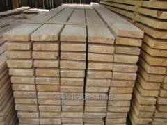 Sawn timber from fir-tree