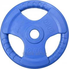 The disk rubberized color 2.5 kg (BO-1 code)