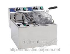 Deep fryer electric 2 * 4 l of Hendi 207109