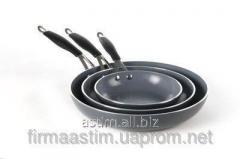 FRYING PAN WITH NANOCERAMIC COVERING 621103